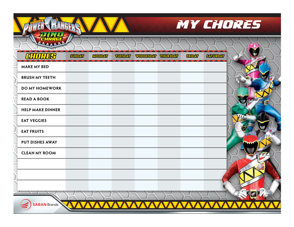 power rangers dino charge 3d papercrafts  u0026 printables