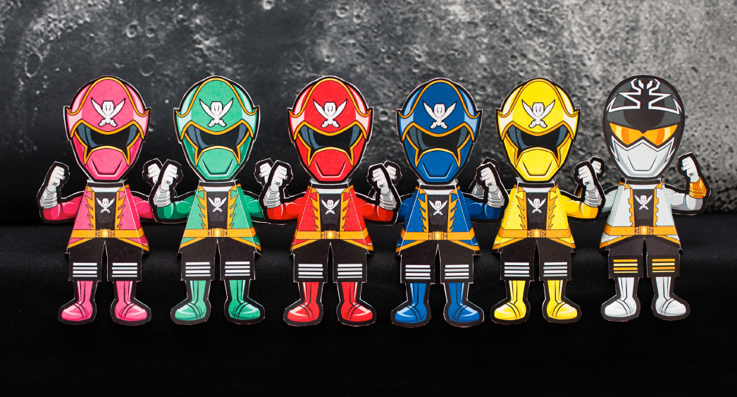 Power Rangers Dino Charge 3D Papercrafts amp Printables Ryan Jay